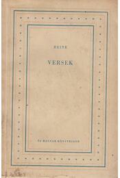 Versek - Heine - Régikönyvek