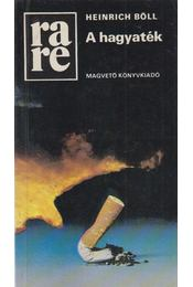 A hagyaték - Heinrich Böll - Régikönyvek