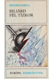Biliárd fél tízkor - Heinrich Böll - Régikönyvek