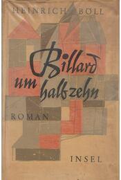 Billard um halb zehn - Heinrich Böll - Régikönyvek
