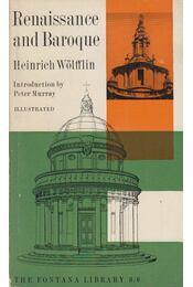 Renaissance and Baroque - Heinrich Wölfflin - Régikönyvek