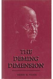 The Deming Dimension - Henry R. Neave - Régikönyvek