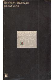 Negations: Essays in Critical Theory - Herbert Marcuse - Régikönyvek