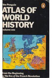 The Penguin Atlas of World History - Hermann Kinder, Werner Hilgemann - Régikönyvek