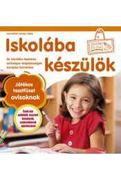 Iskolába készülök - Játékos tesztfüzet ovisoknak - Hernádiné Sándor Ildikó - Régikönyvek