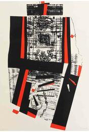 Kompozíció vörösben és feketében - Hincz Gyula - Régikönyvek