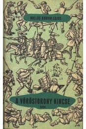 A vöröstorony kincse - Hollós Korvin Lajos - Régikönyvek