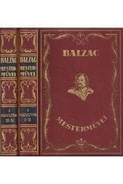 A parasztok I-IV. (két kötetben) - Honoré de Balzac - Régikönyvek