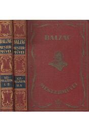 Kispolgárok I-IV. - Honoré de Balzac - Régikönyvek