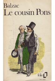 Le cousin Pons - Honoré de Balzac - Régikönyvek
