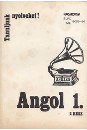 Angol 1. 2. rész - Horlai György, Czobor Zsuzsa - Régikönyvek