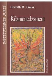 Közmenedzsment - Horváth M. Tamás - Régikönyvek