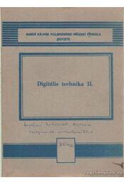 Digitális technika II. - Horváth Miklós - Régikönyvek