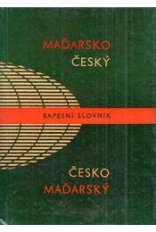 Madarsko-Cesky, Cesko-Madarsky kapesni slovnik - Hradsky, Ladislav, Blaskovics, Josef - Régikönyvek