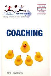 Coaching - SOMERS, MATT - Régikönyvek