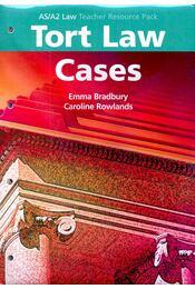 Tort Law Cases - BRADBURY, EMMA – ROWLANDS, CAROLINE - Régikönyvek