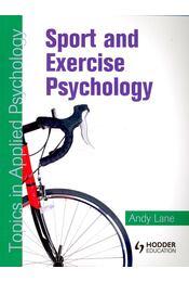 Sport and Exercise Psychology - LANE, ANDY - Régikönyvek
