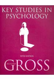 Key Studies in Psychology - GROSS, RICHARD - Régikönyvek