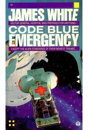 Code Blue Emergency - WHITE, JAMES - Régikönyvek