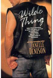 Wilde Thing - Denison, Janelle - Régikönyvek