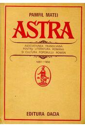 Astra - MATEI, PAMFIL - Régikönyvek