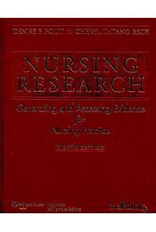 Nursing research - Generating and Assessing Evidence for Nursing Practice - POLIT, DENISE F. - BECK, CHERYL TATANO - Régikönyvek