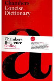 Chambers Concise Dictionary - Editors of Chambers - Régikönyvek