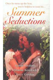 Summer Seductions - GRAHAM, LYNNE - KENDRICK, SHARON - GORDON, LUCY - Régikönyvek