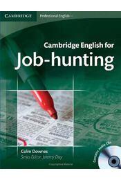 Cambridge English for Job-hunting - DOWNES, COLM - Régikönyvek