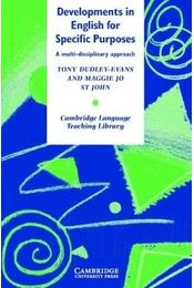 Developments in English for Specific Purposes: A Multi-Disciplinary Approach - DUDLEY-EVANS, TONY - Régikönyvek