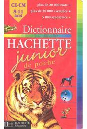 Dictionnaire Hachette Junior de poche - MÉVEL, JEAN-PIERRE - Régikönyvek