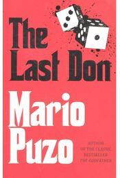 The Last Don - Puzo, Mario - Régikönyvek