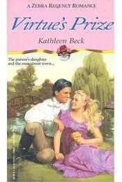 Virtue's Prize - BECK, KATHLEEN - Régikönyvek