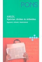 PONS Nyelvtan röviden és érthetően - Angol - BERRY, DARCY BRUCE - CZICZÁRDI, ADRIENN - Régikönyvek