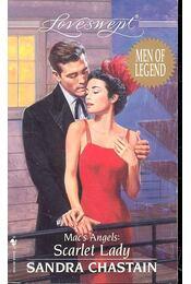 Mac's Angels: Scarlet Lady - Chastain, Sandra - Régikönyvek