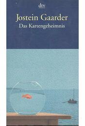 Das Kartengeheimnis - Jostein Gaarder - Régikönyvek