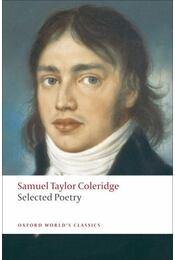 Selected Poetry - Coleridge, Samuel Taylor - Régikönyvek