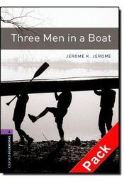 Three Men in a Boat Audio CD Pack - Stage 4 - JEROME, JEROME K. - MOWAT, DIANE - Régikönyvek
