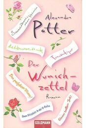 Der Wunschzettel - POTTER, ALEXANDRA - Régikönyvek