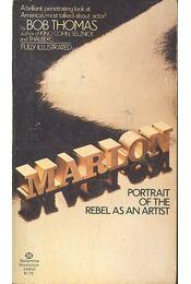 Marlon - Portrait of the Rebel as an Artist - THOMAS, BOB - Régikönyvek