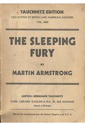The Sleeping Fury - ARMSTRONG, MARTIN - Régikönyvek