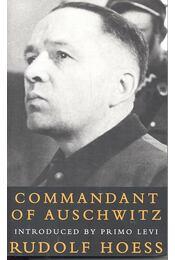 Commandant of Auschwitz - HOESS, RUDOLF - Régikönyvek