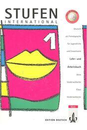 Stufen International 1 – Lehr- und Arbeitsbuch - VORDERWÜLBECKE, ANNE – VORDERBÜLBECKE, KLAUS - Régikönyvek