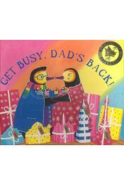 Get Busy, Dad's Back! - WATERHOUSE, STEPHEN - Régikönyvek