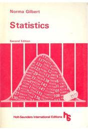 Statistics - GILBERT, NORMA - Régikönyvek