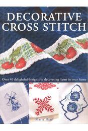 Decorative Cross Stitch - DIAZ, MARIA - Régikönyvek