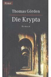 Die Krypta - GÖRDEN, THOMAS - Régikönyvek
