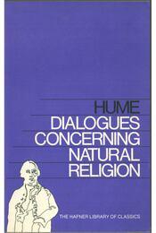 Dialogues Concerning Natural Religion - Hume, David - Régikönyvek