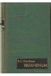 Testamentum - Hutchinson, R. C. - Régikönyvek