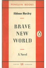 Brave New World - Huxley, Aldous Leonard - Régikönyvek